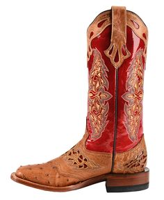 Lucchese Sweetheart Horseman Full Quill Ostrich Cowgirl Boots - Square Toe - Sheplers