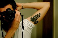 #eagle #tattoo on the arm