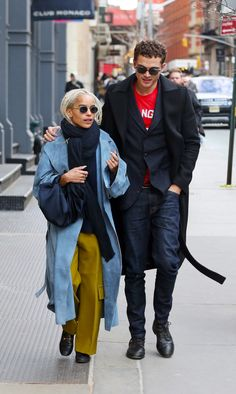 Zoe Kravitz and Karl Glusman out in NYC