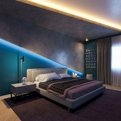 This is a Bedroom Interior Design Ideas. House is a private bedroom and is usually hidden from our guests. Much of our bedroom … Bedroom Lamps Design, Bedroom False Ceiling Design, Luxury Bedroom Design, Master Bedroom Design, Bedroom Decor, Interior Design, Country House Design, Luxurious Bedrooms, Decor Ideas
