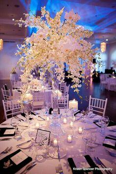 Most Popular Elegant Wedding Reception Centerpieces Center Pieces Mod Wedding, Elegant Wedding, Floral Wedding, Dream Wedding, Wedding Day, Trendy Wedding, Wedding Simple, Party Wedding, Spring Wedding