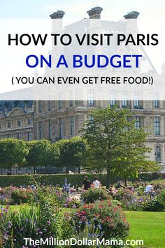 If you're dreaming of Paris but you're on a budget, don't worry. It's totally possible to visit Paris on a budget - you can even get free food! Click through to find out how to save money in Paris.