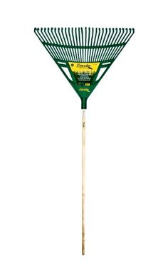 Flexrake CF230W 30Inch Deluxe Poly Rake with 48Inch Wood Handle ** More info could be found at the image url.