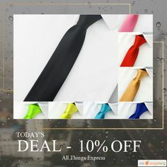 Today Only! 10% OFF this item.  Follow us on Pinterest to be the first to see our exciting Daily Deals. Today's Product: Men Slim Narrow Tie Buy now: http://www.allthingsexpress.com/products/men-slim-narrow-tie?utm_source=Pinterest&utm_medium=Orangetwig_Marketing&utm_campaign=Untitled%20Daily%20Deal%2028th%20April #musthave #loveit #instacool #shop #shopping #onlineshopping #instashop #instagood #instafollow #photooftheday #picoftheday #love #OTstores #smallbiz #sale #dailydeal #dealoftheday…