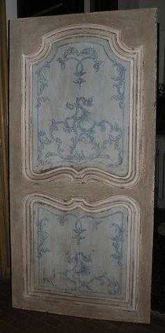 PORTE DA INTERNO LACCATE - SIMONE MARRO: porte e portoni antichi a Cuneo, Torino, Piemonte, Italia