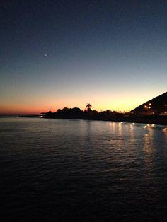 Sunset From Malibu Pier!