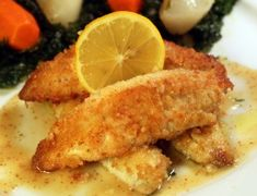 Sauteed Lake Perch with Honey Dijon Sauce! - Johnny Prep - The Soup Guy - Recipes, Videos, Classes