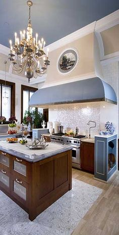 Artistic tile kitchen in grey and timber look. #kitchen #sydney
