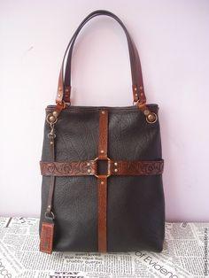 Купить Сумка из натуральной кожи буйвола Wild Bizon - сумка из натуральной кожи, сумка
