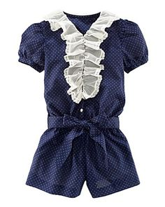 Love little rompers.