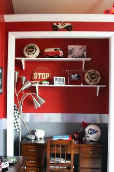 WB Car Themed Bedroom