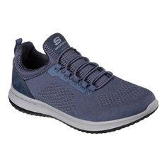 744b1b8848 Men's Skechers Delson Brewton Sneaker - Blue Performance Shoes