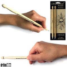 Drummer stick pencil