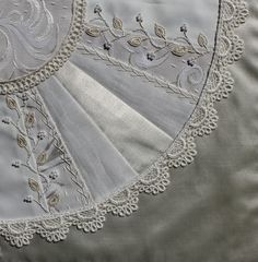 Different White Satins and Amazing stitching!