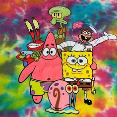 Sponge Bob character Tie dye tee size S on Mercari Wie Zeichnet Man Spongebob, Spongebob Pics, Spongebob Drawings, Nickelodeon Spongebob, Spongebob Iphone Wallpaper, Cartoon Wallpaper Iphone, Cute Cartoon Wallpapers, Images Wallpaper, Cute Wallpaper Backgrounds