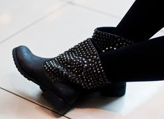 studded boots - must have this winter