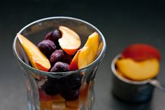 Peach and Cherry Smoothie