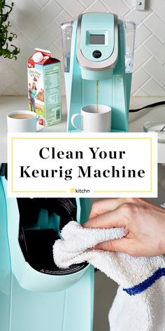 How To Clean a Keurig Coffee Machine — Cleaning Lessons from The Kitchn coffeedrinks Coffee Maker Machine, Best Coffee Maker, Cappuccino Machine, Coffee Machines, Best Home Coffee Machine, Espresso Coffee Machine, Deep Cleaning Tips, House Cleaning Tips, Electrum