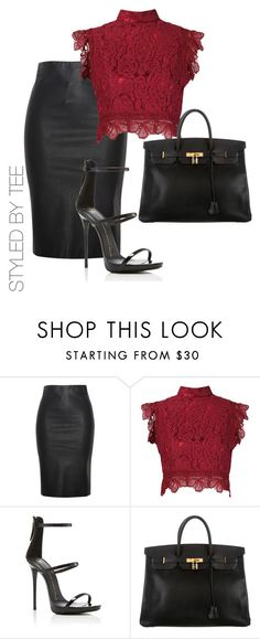 """Untitled #123"" by toniannfratianni on Polyvore featuring Relaxfeel, Martha Medeiros, Giuseppe Zanotti and Hermès"