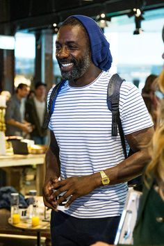 """""""  Idris Elba visits the Superdry store at Westfield Bondi Junction in Sydney, New South Wales, September 26, 2016 """""""