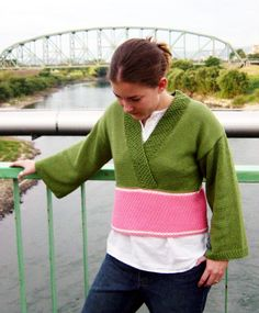 I don't know if I would actually make and wear this kimono-inspired sweater, but I like how it looks. http://knitty.com/ISSUEwinter03/PATTkyoto.html