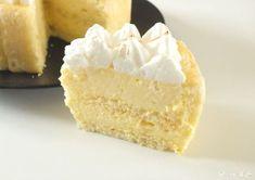 charlotte citron façon tarte au citron meringuée_4 Beaux Desserts, My Dessert, Pavlova, Tupperware, Cheesecakes, Vanilla Cake, Mousse, Brunch, Lemon