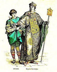 El estilo Bizancio era una mezcla entre los estilos griego y romano con la suntuosidad asiática y oriental.