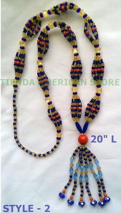 Santeria. Yoruba  Eleke necklace or  bracelet Idde for orisha