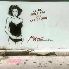 #jenebrisepasquelescoeurs by #misstic #woman #blackandwhite & #red #coeur  #brokenheart  #streetart #graffiti #graff #spray #bombing #wall #instagraff #streetartist #urbanart #urbanartist  #streetartparis #parisgraffiti #graffitiwall #wallporn #wallpornart #streetarteverywhere #streetphoto #streetartandgraffiti #urbanwalls #graffart #pochoir Rue de la Forge Royale #paris
