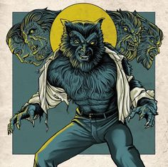 The Monster Squad by Ghoulish Gary Pullin