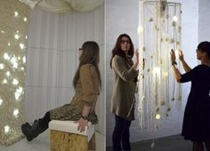 """Slenduro is an electronic wind chime designed to create a """"a relaxing interactive installation."""""""