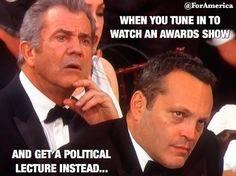 Truth! - January 2017 Vince Vaughn & Mel Gibson's reaction to Meryl Streep's Speech!