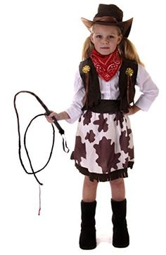 cowgirl costume girlu0027s cow costume age 79 for more information