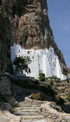 Monasterio en Amorgos ~ Grecia