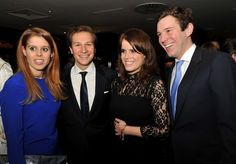 The Royal Watcher:  The York sisters with their boyfriends-Princess Beatrice and Dave Clark and Princess Eugenie and Jack Brooksbank, at a Chinese New Year Party, 2/4/13