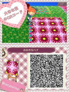 Big flower QR code