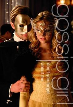 masquerade party theme   image idea from Gossip girl