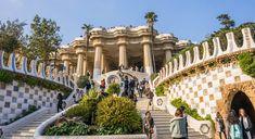 Gaudi, Parque Güell, Arquitectura, Barcelona, España
