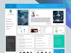 Intranet Portal Design designed by Vignesh Karthick. Connect with them on Dribbble; Sharepoint Design, Sharepoint Intranet, Intranet Design, Project Dashboard, Dashboard Design, Design Thinking, Motion Design, Web Design Career, Company Portal
