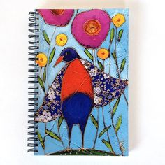 Journal intime • L'oiseau - reproductions des toiles d'isabelle Malo Isabelle, Reproduction, Caro Diario, Canvases, Paper Mill