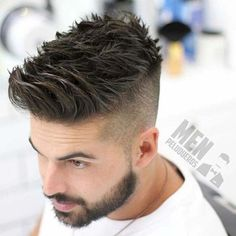 55 New Hairstyles for Men in 2018 #Outfit https://seasonoutfit.com/2018/01/01/55-new-hairstyles-for-men-in-2018/