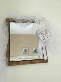 Wedding bedroom mirror