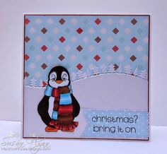 Beccy's Place - Finn's Scarf Digital Stamps, Create, Places, Books, Cards, Christmas, Xmas, Digi Stamps, Libros