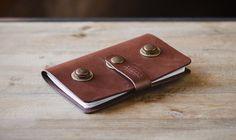 Leather card flip wallet | Cocuan