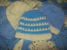 Cats-Rockin-Crochet, Free Crochet and Knit Patterns: Little X's Beanie Hat. Free Crochet Pattern.