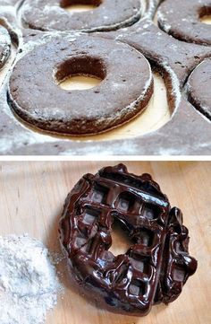 23 Things You Can Cook In A Waffle Iron | Waffle Iron Doughnuts