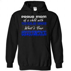 Proud - Testicular Cancer - design your own shirt #team shirt #sueter sweater