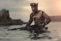 Spear Fishing, Underwater, Diving, Ocean, Lifestyle, Sports, Free, World, Pictures