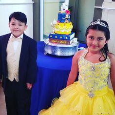 Beauty and the beast birthdaywww.facebook.com/carinaedolce  #carinaedolce www.carinaedolce.com Happy Birthday, Birthday Cake, Custom Cakes, Beauty And The Beast, Fondant, Bakery, Mario, Community, Facebook