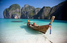 Kho Phi Phi, Thailand. One of the highlights of my travels in Asia, back in 2001